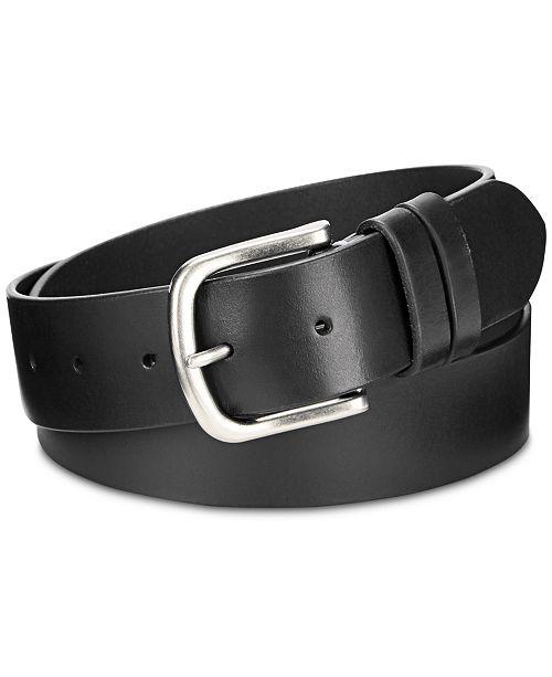 Calvin Klein Double-Keeper Leather Belt