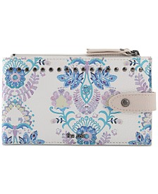 The Sak Silverlake Slim Floral Credit Card Wallet