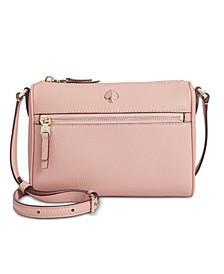 Polly Pebble Leather Crossbody