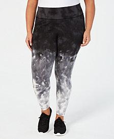 Ideology Plus Size Ombré Leggings, Created for Macy's