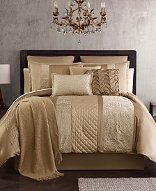 Malika 200-Thread Count 14-Pc. Queen Comforter Set, Created for Macy's
