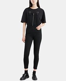 Levi's® Skinny Zip Overalls