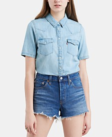 Levi's® Short-Sleeve Ultimate Western Top