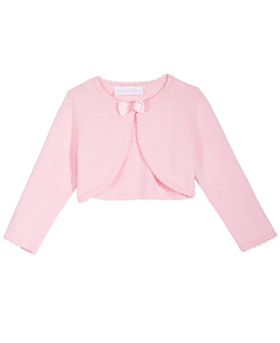 Bonnie Baby Baby Girls Bow Cotton Sweater