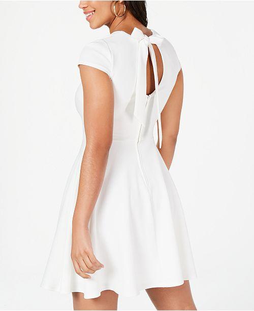c72904f37c5 B Darlin Juniors  Bow-Back Fit   Flare Dress   Reviews - Dresses ...
