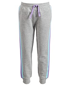 Toddler Girls Side-Striped Jogger Pants, Created for Macy's