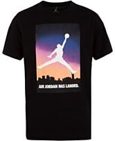 02cf9de4774010 Jordan Big Boys Air Jordan Logo Cotton T-Shirt