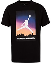 e42e38767142 Jordan Big Boys Air Jordan Logo Cotton T-Shirt