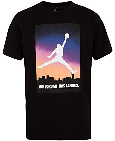 Jordan Little Boys Air Jordan Logo Cotton T-Shirt