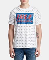 de238c00e0a55 True Religion Men s Monogram Logo T-Shirt