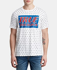 True Religion Men's Monogram Logo T-Shirt