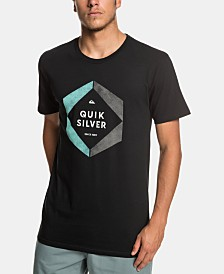 Quiksilver Men's Hexa Logo Graphic T-Shirt