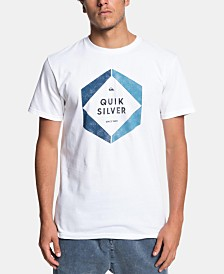 Quiksilver Men's Hexa Logo Graphic T-Shirt