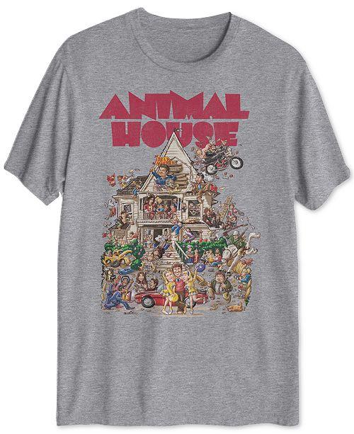 Hybrid Animal House Men's Graphic T-Shirt