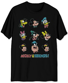 Mickey & Friends Men's Graphic T-Shirt