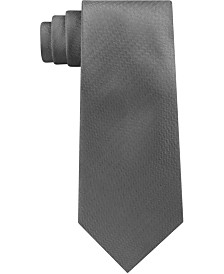 Michael Kors Men's Premium Light Solid Slim Silk Tie