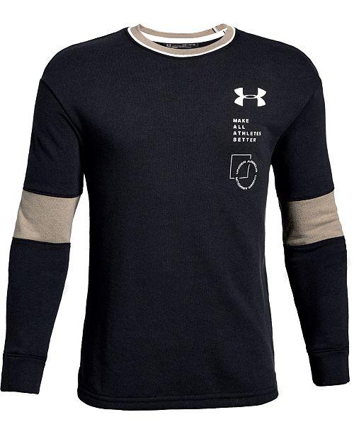 Under Armour Big Boys Rival Terry Sweatshirt