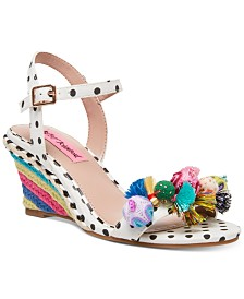 Betsey Johnson Koko Wedge Sandals