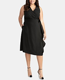 RACHEL Rachel Roy Etta Side-Tie Trench Dress, Created for Macy's