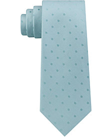 Calvin Klein Men's Dot Slim Tie