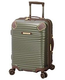 "London Fog Oxford II 20"" Hardside Spinner Suitcase, Created for Macy's"