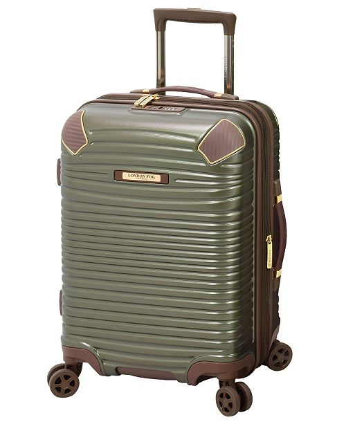 "London Fog Oxford II 20"" Hardside Carry-On Luggage, Created for Macy's"