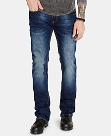 Buffalo David Bitton Men's King-X Slim-Fit Boot Cut Jeans