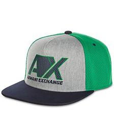 A|X Armani Exchange Men's Logo Graphic Hat
