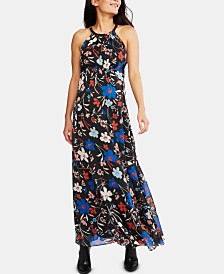A Pea In The Pod Maternity Floral-Print Maxi Dress