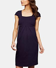 Isabella Oliver Maternity Ruched A-Line Dress