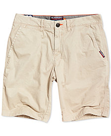 Superdry Men's Slim-Fit Chino Shorts
