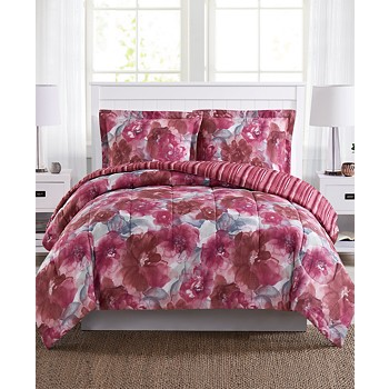 Pem America Tinsley Reversible 2 Piece Twin Mini Comforter Set