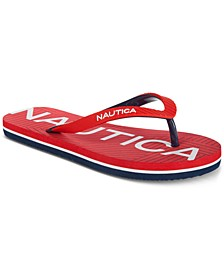 Little & Big Boys Ashen Flip-Flops