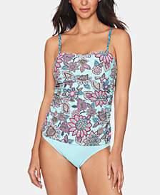 Vera Bradley Reversible Tankini Top & Bottoms