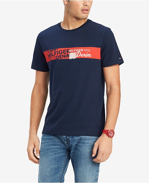 Tommy Hilfiger Men's Samuel Graphic T Shirt, Created for