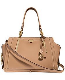 COACH Dreamer Satchel in Smooth Leather