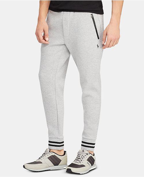 Polo Ralph Lauren Men's P-Wing Double-Knit Performance Jogger Pants