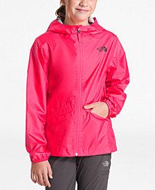 The North Face Big Girls Zipline Hooded Rain Jacket