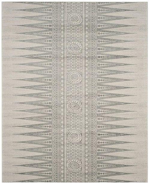 Safavieh Evoke Ivory and Silver 9' x 12' Area Rug