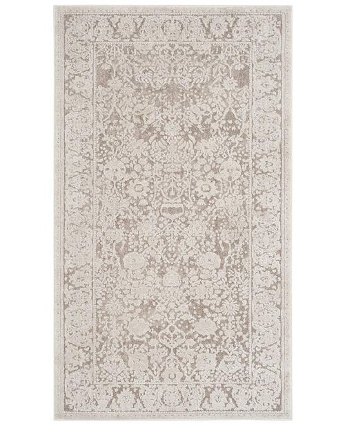 Safavieh Reflection Beige and Cream 3' x 5' Area Rug