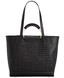 I.N.C. Ajae Bangle Crochet Tote, Created for Macy's