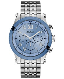Men's Chronograph Stainless Steel Bracelet Watch 46mm