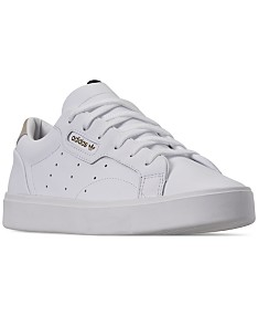 brand new 251f9 e5fe4 All White Adidas - Macy's