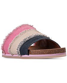 Little Girls' Romi Slide Sandals from Finish Line