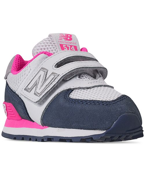 buy online 9590f 39c7e Toddler Girls' 574 Casual Sneakers from Finish Line