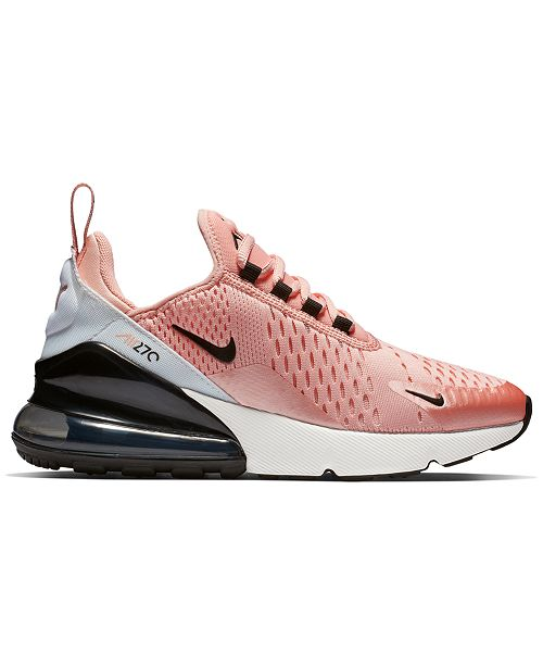 shopping where can i buy 50% price Nike Girls' Air Max 270 Valentine's Day Casual Sneakers from ...