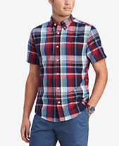 8b78ba933acd Blue Plaid Shirt  Shop Blue Plaid Shirt - Macy s