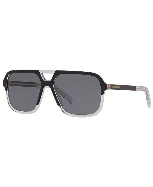 14de6e1e66f6 Dolce & Gabbana Polarized Sunglasses, DG4354 58 & Reviews ...