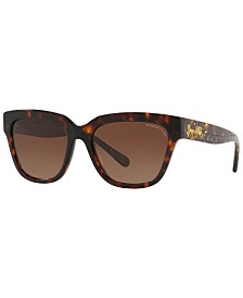 Coach Polarized Sunglasses, HC8262 55 L1082