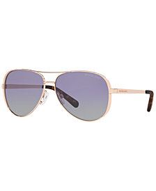 Michael Kors Polarized Sunglasses, MK5004 59 CHELSEA